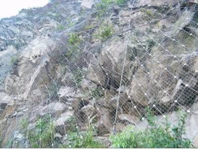 Active Rockfall Barrier System