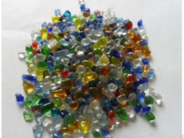 Colorful Glass Beads For Decoration In Construction