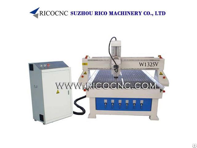 Mdf Board Cutting Machine With Cnc Vacuum Table W1325v