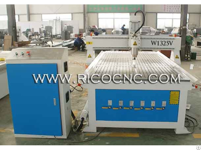 Plywood Panel Cnc Router Slatwall Cutting Machine W1325v