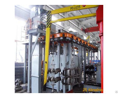 Pass Through Monorail Blasting Machine
