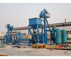 Internal Steel Tube Shot Blasting Machine