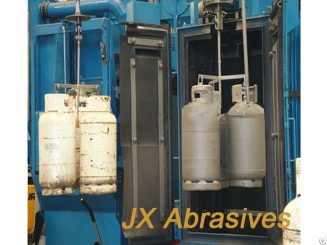 Hook Type Automatic Shot Blasting Machine For Oil Tank