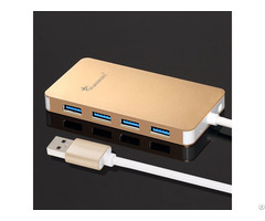 Ultra Thin 4 Port Usb 3 0 Hub