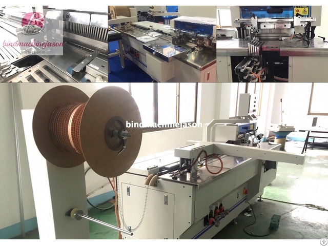 Double Wire Binding Equipment And Hole Punching Pbw580