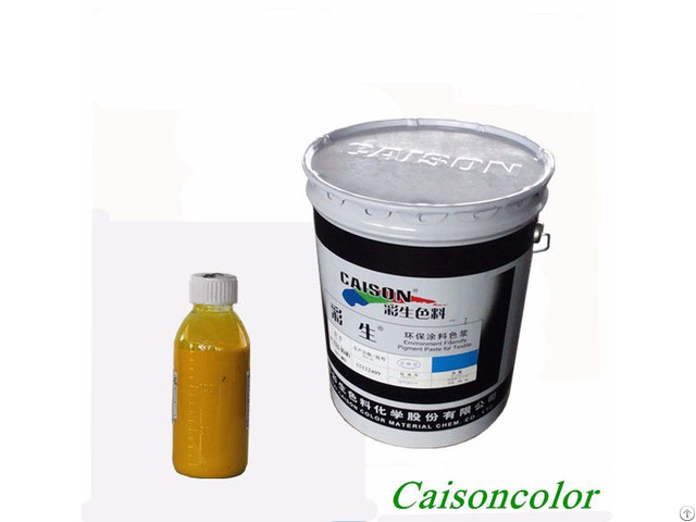 Identify The Quality Of Water Based Pigment Paste