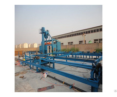 Internal Steel Tube Shot Blasting Machine Surface Preparation