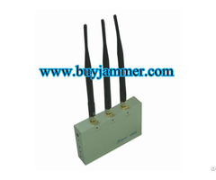 Cell Phone Jammer With Remote Control Cdma Gsm Dcs And 3g
