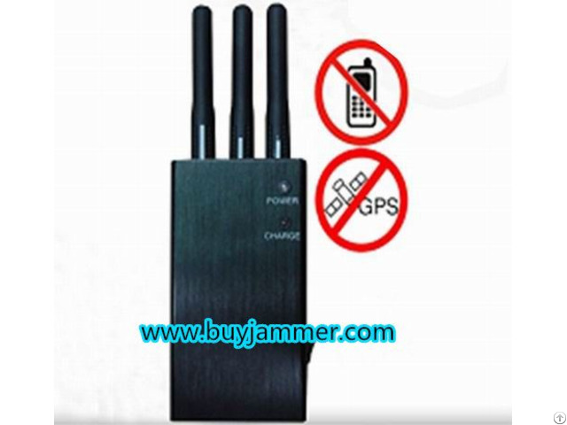 Portable Wifi Wireless Video Cell Phone Jammer