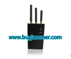 High Power Portable Gps And Mobile Phone Jammer Cdma Gsm Dcs Pcs