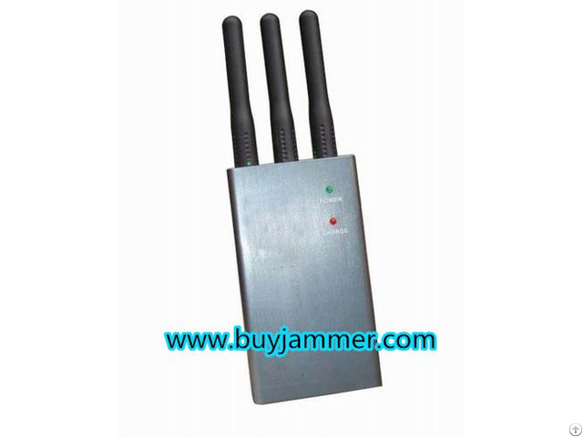 Mini Portable Cell Phone Jammer Cdma Gsm Dcs Phs 3g