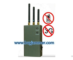 Five Band Portable Cell Phone Signal Blocker Jammer