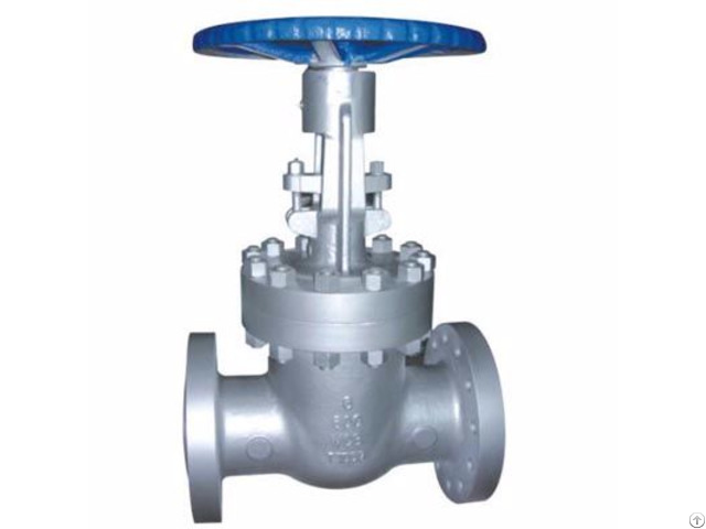 Asme B16 34 Class 600 Lb Cast Steel Gate Valve Flanged Ends