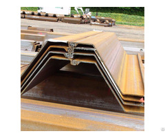 Z Hot Rolled Steel Sheet Pile
