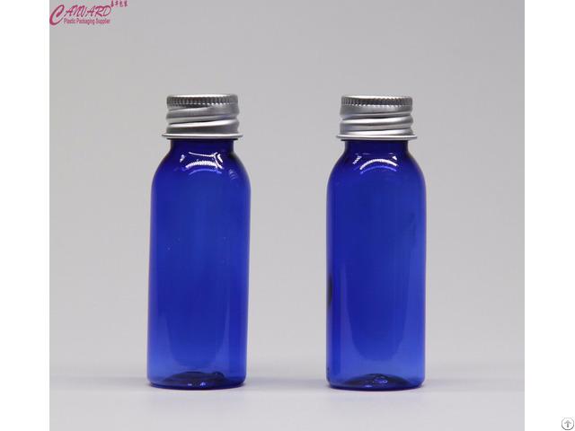 30ml Blue Pet Bottle With Aluminium Cap