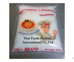 Monosodium Glutamate Made In Thailand