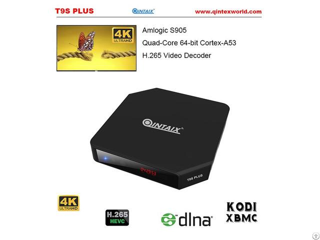 Amlogic S905 Quad Core Tv Box Qintex T9s Plus Android 5 1 Mini Pc