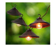 Decorative G40 Bronze Cafe Light 8ct Kf93017