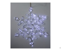 Christmas Decorative Smd Snowflake Wire Form Wall Light Kf67184