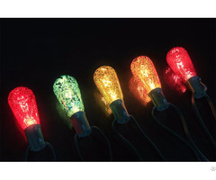 Christmas Decorative St40 Multicolour Mercury Finish Edison Bulbs 10 Light String Kf01723 M