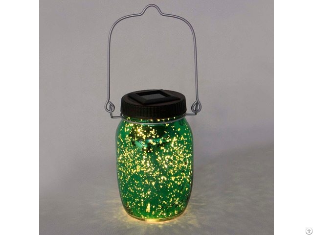 Solar Powered Firefly Mason Jar Kf130063