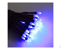 Solar Powered Led String Light 50ct Kf45012 So