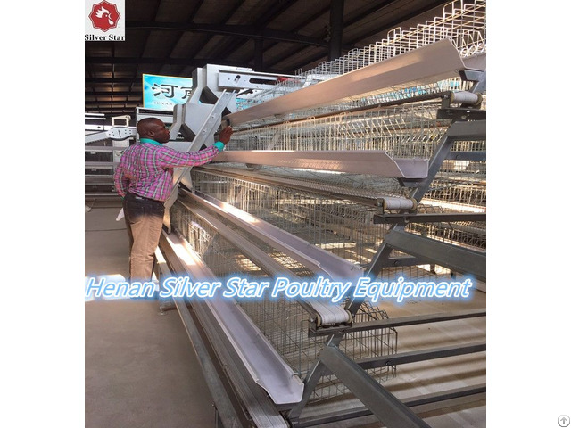 Chicken Farm Equipment Poultry Battery Cages For Layers