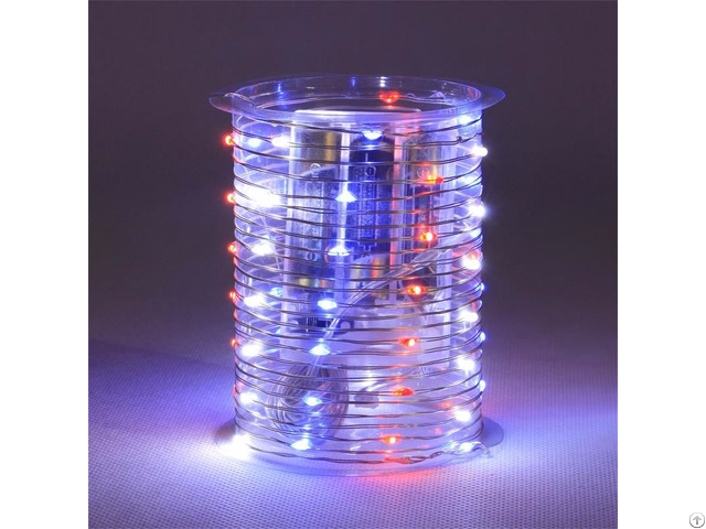 Battery Operated B O 60 Smd Led String Light With Assorted Colors Kf130081