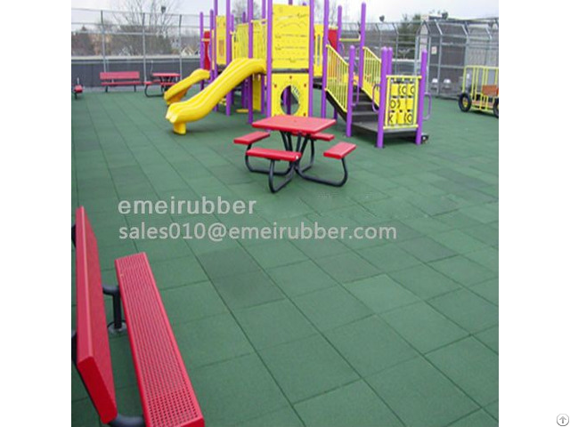 Safety Rubber Flooring For Basketball Court