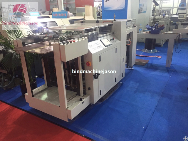 Automatic Cardboard Punching Machine Spb550 With Wide Perforate Function