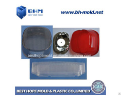 Auto Light Cover Polystyrene Plastic Moulding Contract Manufacturing