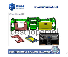 Automotive Plastic Instrument Panel Mold Making Dashboard Tooling