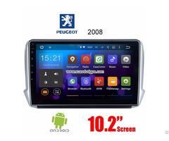 Peugeot 2008 Android Car Radio Gps Wifi Navigation Camera Parts