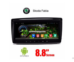 Skoda Fabia 2013 Car Radio Gps Android 6 0 Wifi Navigation Camera