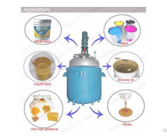 Jct Resin Glue Polyurethane Chemical Mixing Tank Reactor Kettle