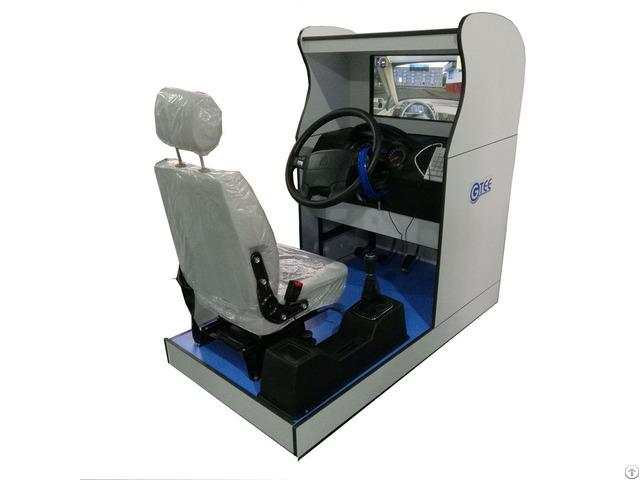 Standard Truck Driving Simulator One Screen