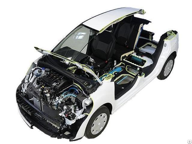 Electric Vehicle Cutaway