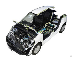 Electric Vehicle Cutaway