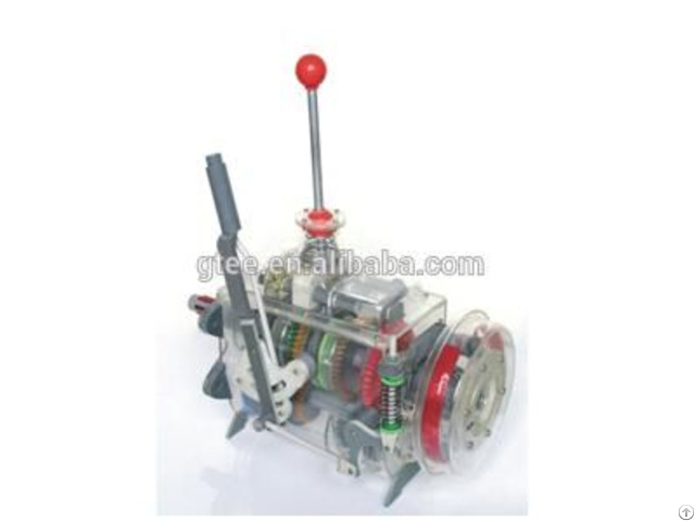 Transparent Dongfeng Eq140 Five File Gearbox And Handbrake Assembly Educational Equipment