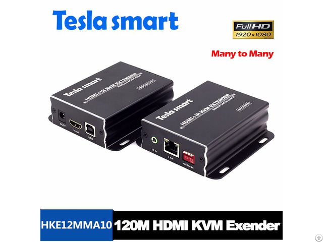 Hdmi 120m Kvm Extender By Single Utp