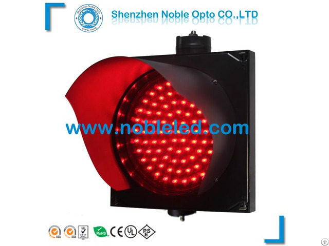 Led Red Warning Traffic Light For Street Safety