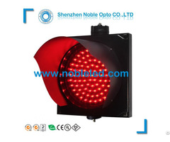 Led Red Warning Traffic Light For Street Safety