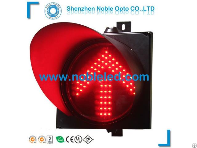 300mm Led Solar Directional Traffic Light