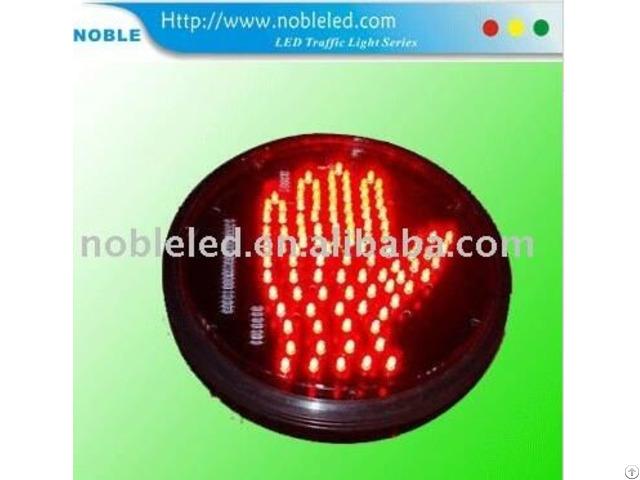 200mm Hand Form Led Traffic Light Blinker
