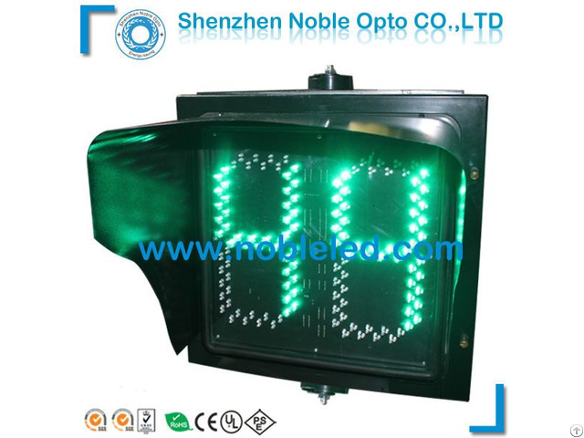 Large Display 400mm Led Traffic Light Countdown Timer