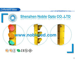 200mm Solar Led Traffic Signal Lights In Cheap Price With Yellow Color