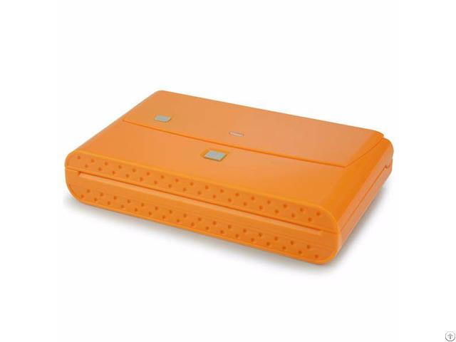Mini Easy Plastic Bag Vacuum Sealer Machine Vs66 Orange