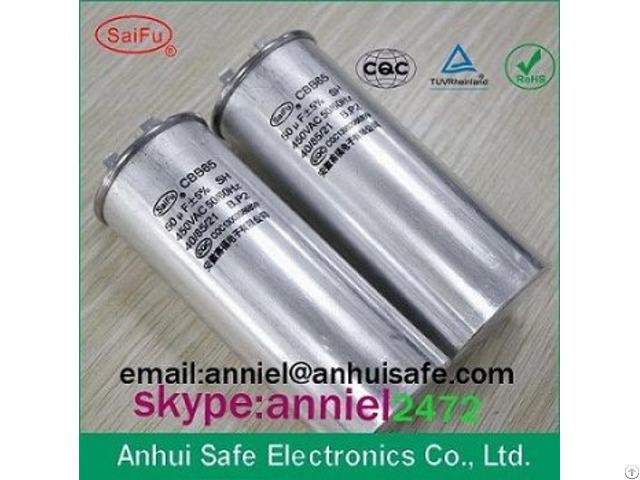 Low Voltage 10uf 20uf 30uf 40uf 50uf 60uf Retail Factory Price Old Brand Cbb65 Capacitor