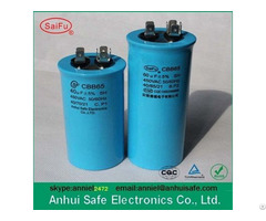 Cbb65 Compressor Capacitor With 250v 370v 440v 450v 500v
