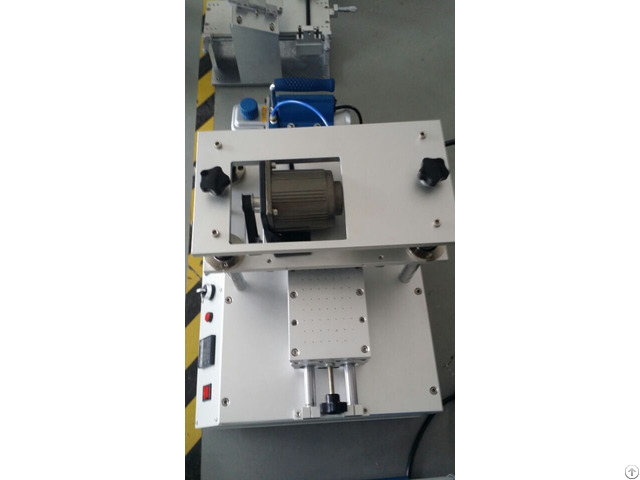 Lcd Touch Screen Oca Glue Eliminate Machine With Silicon Roller